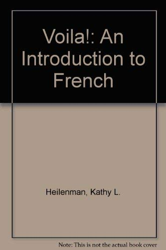 9780838411414: Voila!: An Introduction to French (French Edition)