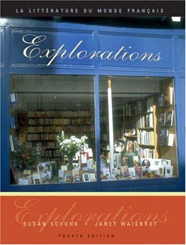 9780838411889: Explorations: La litterature du monde français (with Système-D 3.0 CD-ROM: Writing Assistant for French)