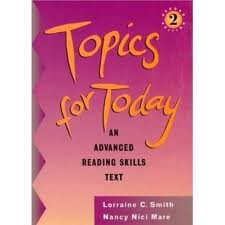 9780838412077: Topics for Today, with Answer Key