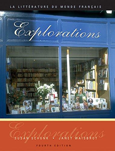 9780838413166: Explorations: La litterature du monde français (Book Only)