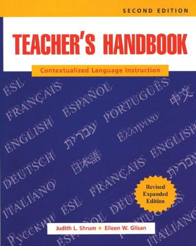 9780838414651: Teacher's Handbook Revised: Contextualized Language Instruction