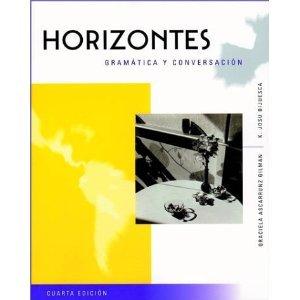9780838414668: Horizontes: Gramática y conversación