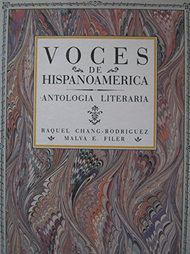 9780838416037: Voces De Hispanoamerica: Antologia Literaria (Spanish Edition)