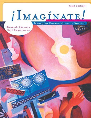 9780838416419: Imaginate!: Managing Conversations in Spanish (with Audio CD)