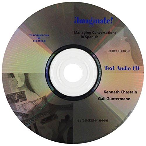 9780838416440: Audio CD for Imaginate!: Managing Conversations in Spanish, 3rd