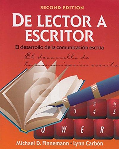 9780838416501: De lector a escritor: El desarrollo de la comunicacion escrita (World Languages)