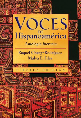 9780838416532: Voces de Hispanoamerica: Antologia literaria (Spanish Edition)