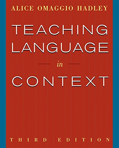 9780838417058: Teaching Language in Context (World Languages)