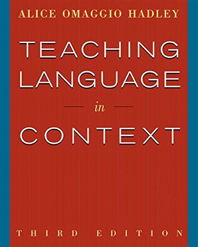 9780838417058: Teaching Language in Context (World Languages)