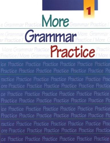 9780838418932: More Grammar Practice 1