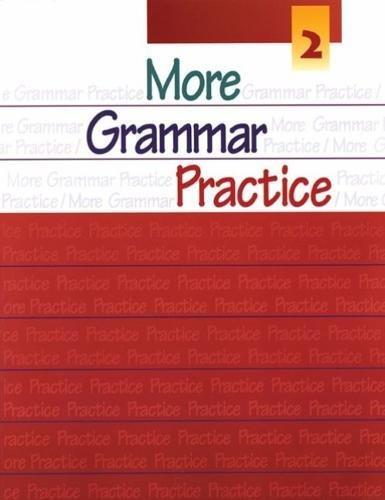9780838419021: More Grammar Practice 2
