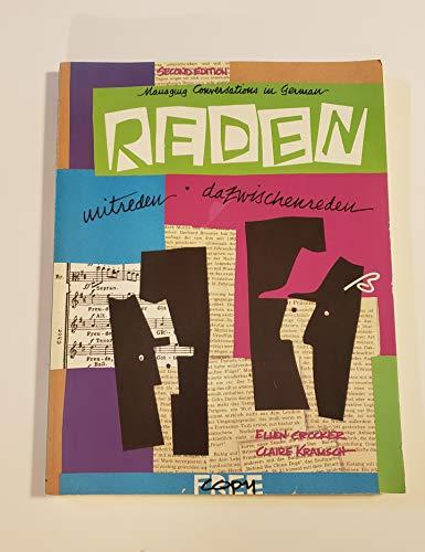 9780838419410: Reden Mitreden Dazwischenreden (Making Conversations in German)