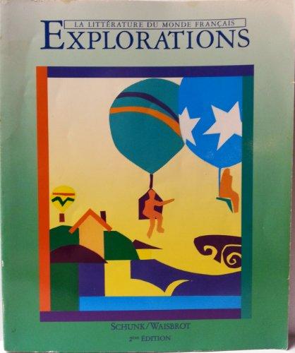 9780838419458: Explorations LA Litterature Du Monde Francais