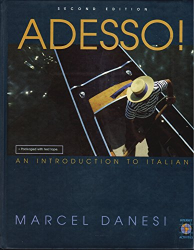 9780838419915: Adesso: A Functional Introduction to Italian