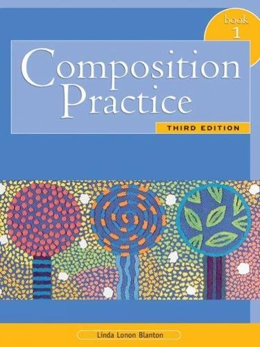 9780838419939: Composition Practice, Book 1: A Text for English Language Learners, Third Edition
