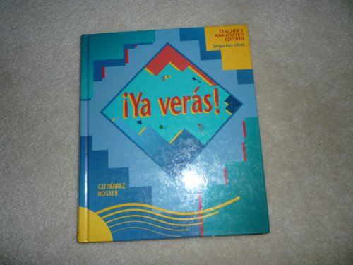 9780838420454: Ya Veras Level 2 Teacher Annotated Ed