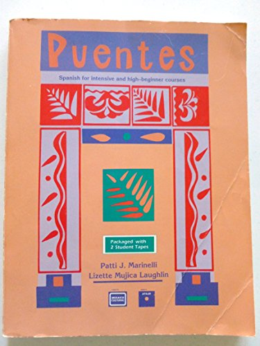 9780838421635: Puentes: Spanish For Intensive and High-Beginner Courses