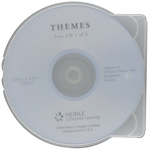9780838422090: Audio CD's for Thèmes: French for the Global Community