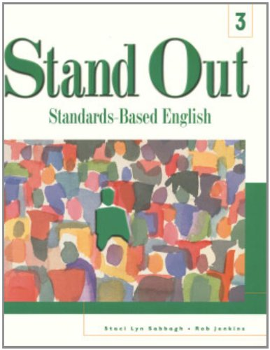 9780838422205: Stand Out 3: Standards-Based English (Student Book)