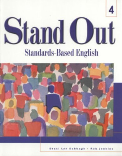 9780838422366: Stand Out L4, Student Text: Standards-Based English (Stand Out (Numbered))