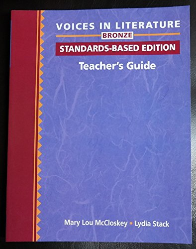 9780838422915: Voices in Literature, Bronze: Teacher's Guide: A Standards-Based ESL Program