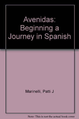 9780838423127: Avenidas: Beginning a Journey in Spanish