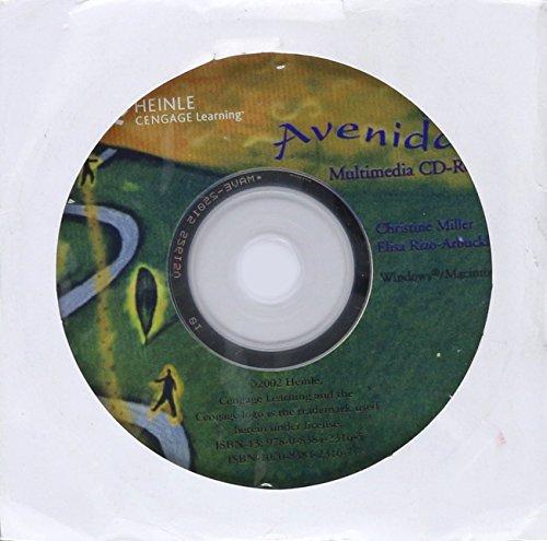 Multimedia CD-ROM for Avenidas: Beginning a Journey in Spanish: Marinelli, Patti J., Oramas, Mirta