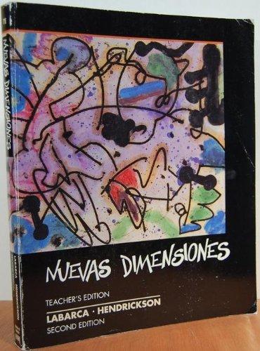 9780838423332: Nuevas Dimensiones Teacher's Edition