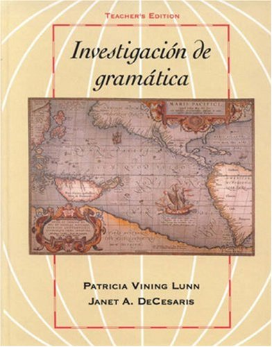 9780838423486: Investigacion de gramática