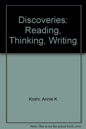 9780838423868: Discoveries: Reading, Thinking, Writing
