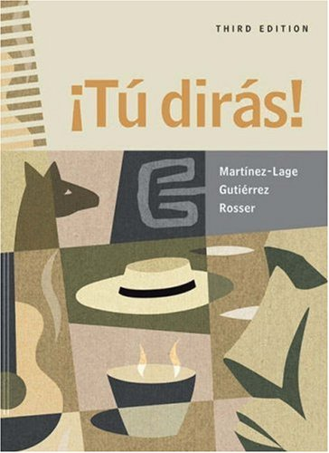9780838425053: Tu dirás! (with Audio CD)