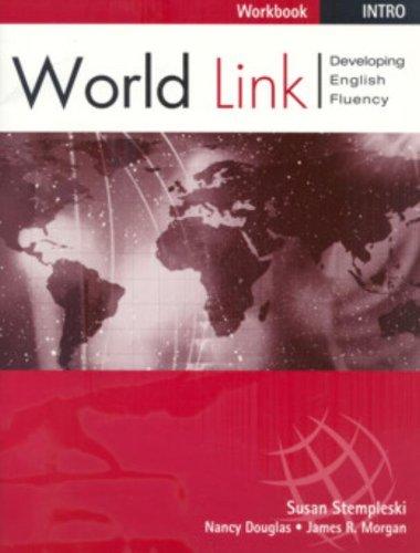 9780838425220: Workbook for World Link Intro Book