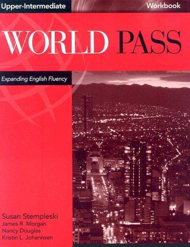 9780838425671: World Pass Upper-Intermediate Workbook