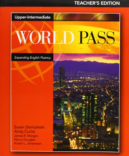 9780838425688: World Pass Upper-Intermediate Teacher's Edition