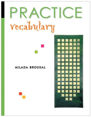 Practice Grammar & Vocabulary-Answer Key: Broukal, Milada
