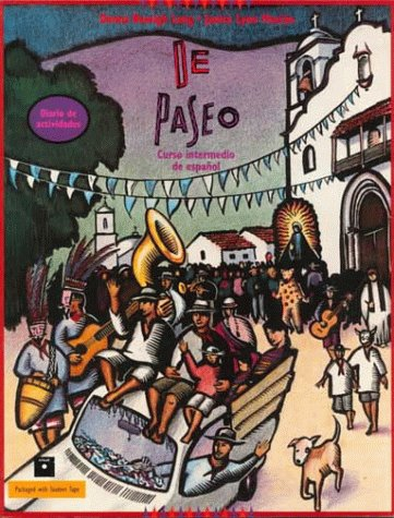 9780838425824: de Paseo, Workbook and Lab Manual (College Spanish)