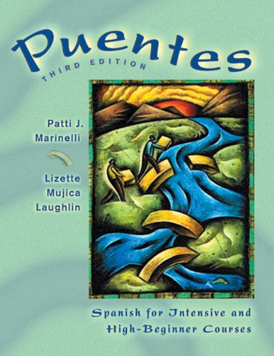 9780838425916: Puentes: Spanish for Intensive and High-Beginner Courses (with Audio CD)