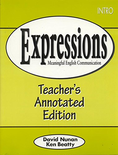 9780838426005: Expressions Intro: Teacher's Edition: Meaningful English Communication