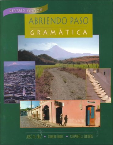 9780838426067: Abriendo Paso: Gramatica