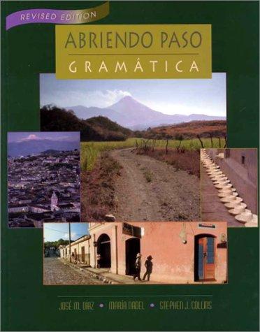 9780838426241: ABRIENDO PASO GRAMATICA HARDCOVER REVISED EDITION 2000C