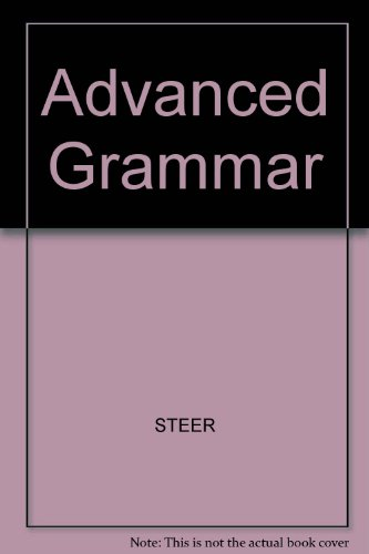 9780838426661: Advanced Grammar Book,The