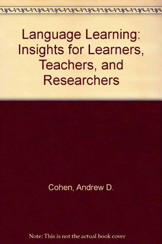 9780838426760: Language Learning: Insights for Learners, Teachers, and Researchers