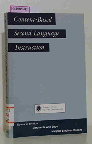 9780838426777: Content-Based Second Language Instruction