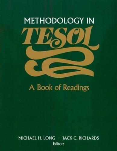 9780838426951: Methodology in TESOL: A Book of Readings