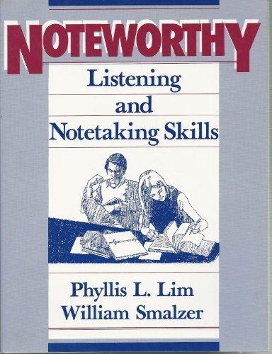 9780838429464: Noteworthy: Listening and Notetaking Skills