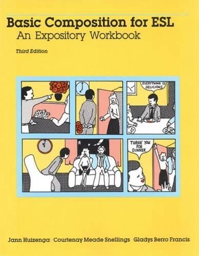 9780838430040: Basic Composition for ESL: An Expository Workbook