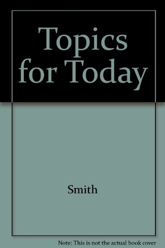 9780838430996: Topics for Today: A Low-Advanced Reading Skills Text