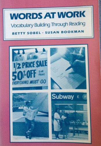9780838433270: Words at Work: Vocabulary Building Through Reading