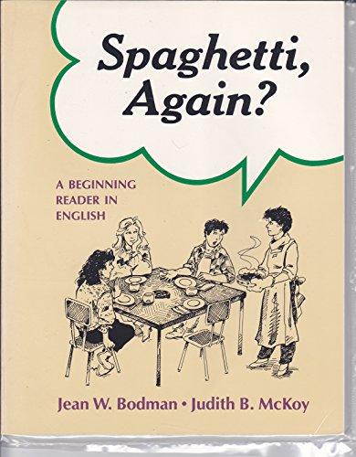 9780838433430: Spaghetti Again: A Beginning Reader in English