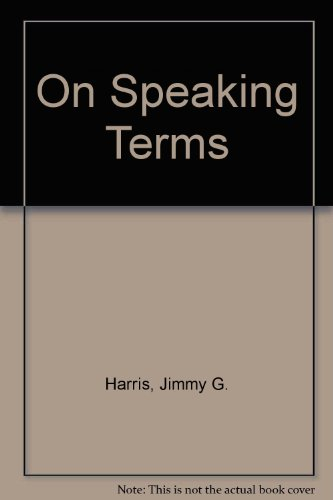 9780838433577: On Speaking Terms